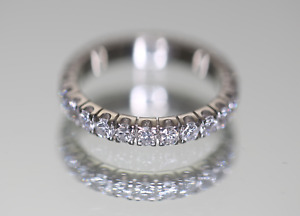 Diamond Eternity Ring - white gold