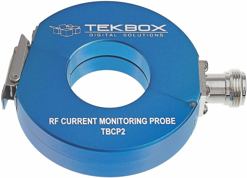 TekBox TBCP2-500 - 32mm Snap-On RF Current Monitoring Probe, 10 kHz to 500 MHz