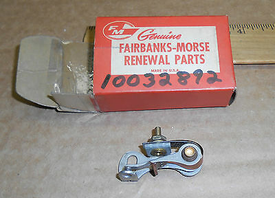 New Vintage Fairbanks-morse Magneto Distributor Contact Points 10032892