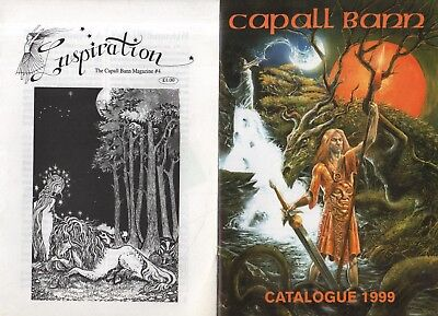 CAPALL BANN CATALOGUE & MAGAZINES - FAIRIES & WITCHCRAFT - MILVERTON, SOMERSET (Witchcraft Catalogs)