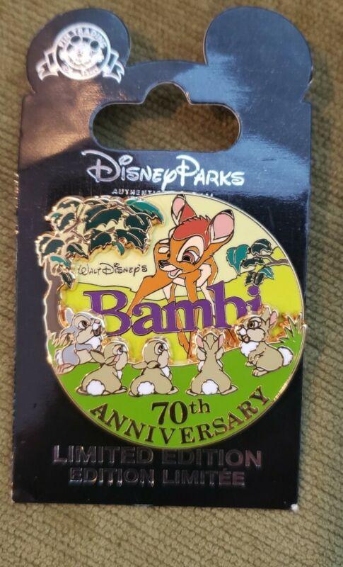 Disney 70th Anniversary Bambi Limited Edition Pin