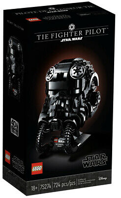 Lego Star Wars: TIE Fighter Pilot Helmet Bust (75274) Brand New Sealed Collect