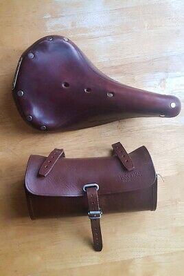 Brooks B17 Champion Standard Leather Saddle and Tool Saddle Bag