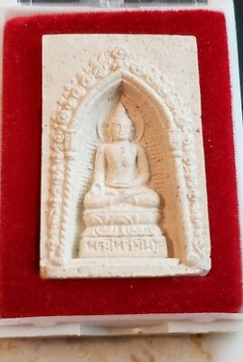 - THAILAND BUDDHIST AMULET IN TEMPLE BOX
