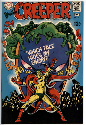 BEWARE THE CREEPER #4 VF+ 8.5 1968 DC COMICS STEVE DITKO ART