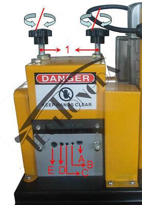 110v 370w Wire Stripper Stripping Machine Scrap Copper Diameter 2-20mm