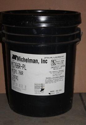 Clear acrylic coating, Micryl 766R-PL, Michelman, 5 gallons
