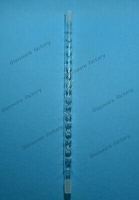 Vigreux Distilling Column500mm2440glass Distillation Tubelab Glassware