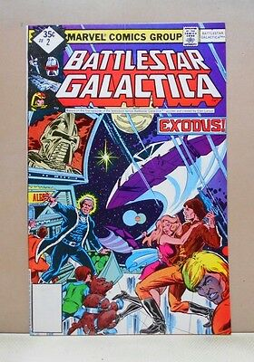BATTLESTAR GALACTICA Vol.1 #2 1979-81 Marvel 6.0 FN Uncertified ERNIE COLON