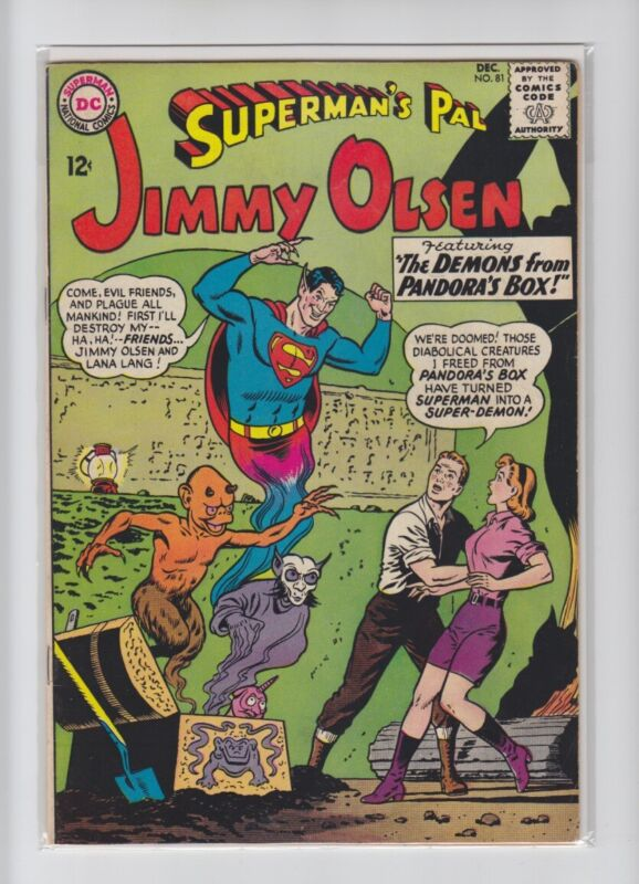 SUPERMANS PAL JIMMY OLSEN #81