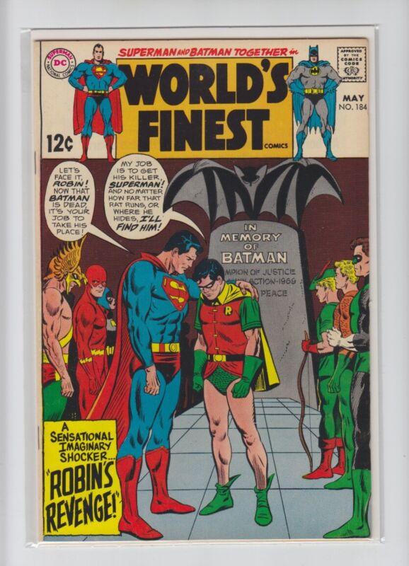 WORLDS FINEST #184