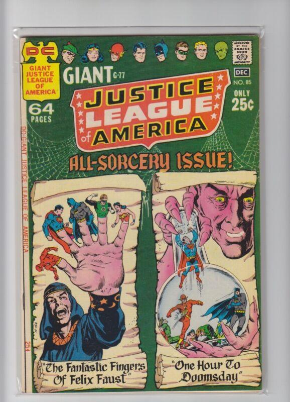 JUSTICE LEAGUE OF AMERICA #85