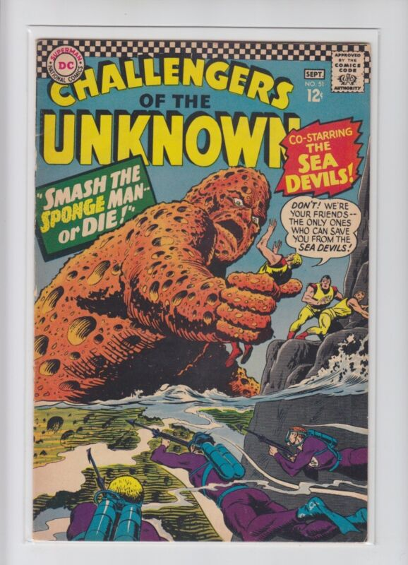 CHALLENGERS OF THE UNKNOWN #51
