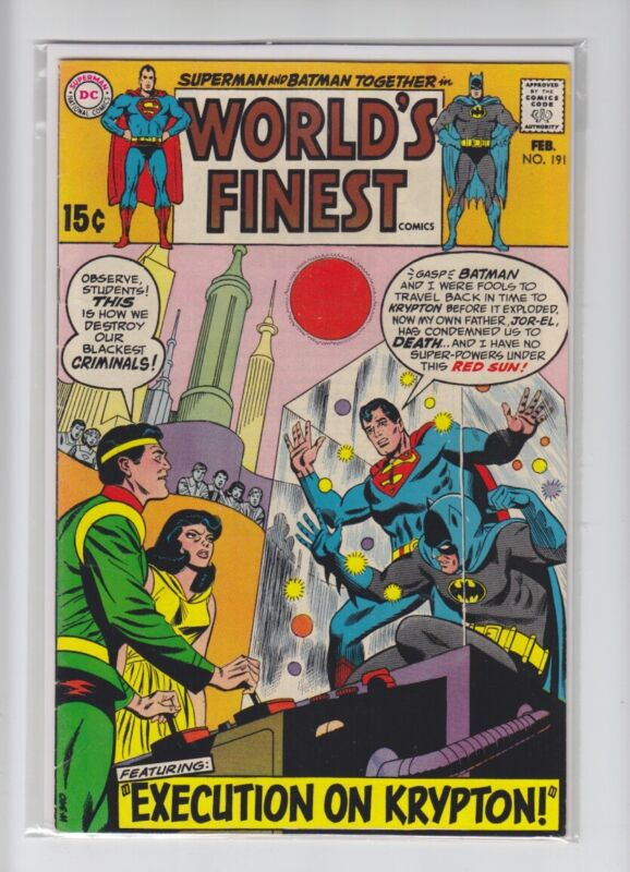WORLDS FINEST #191