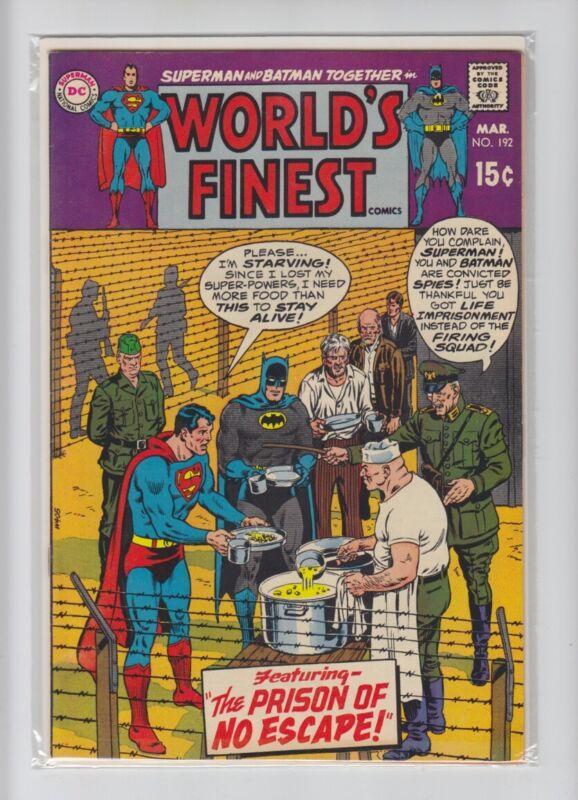 WORLDS FINEST #192