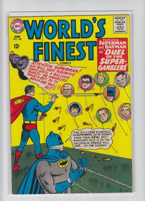 WORLDS FINEST #150