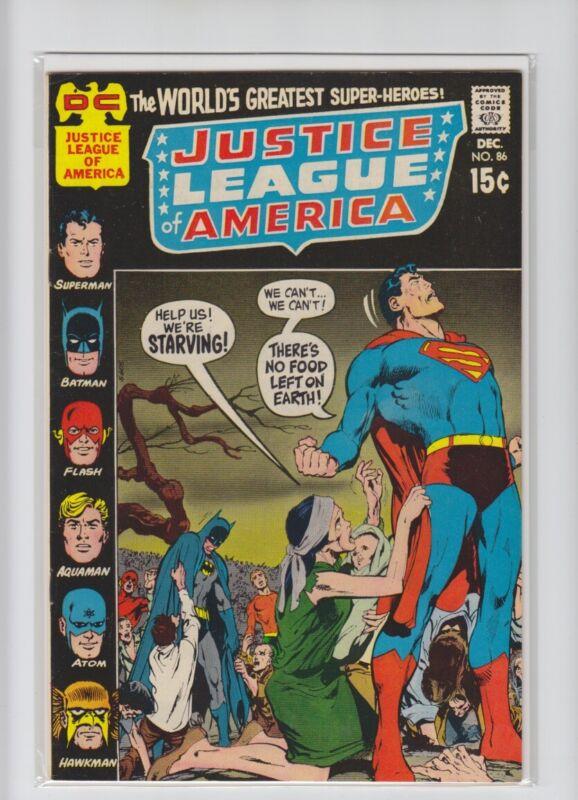 JUSTICE LEAGUE OF AMERICA #86