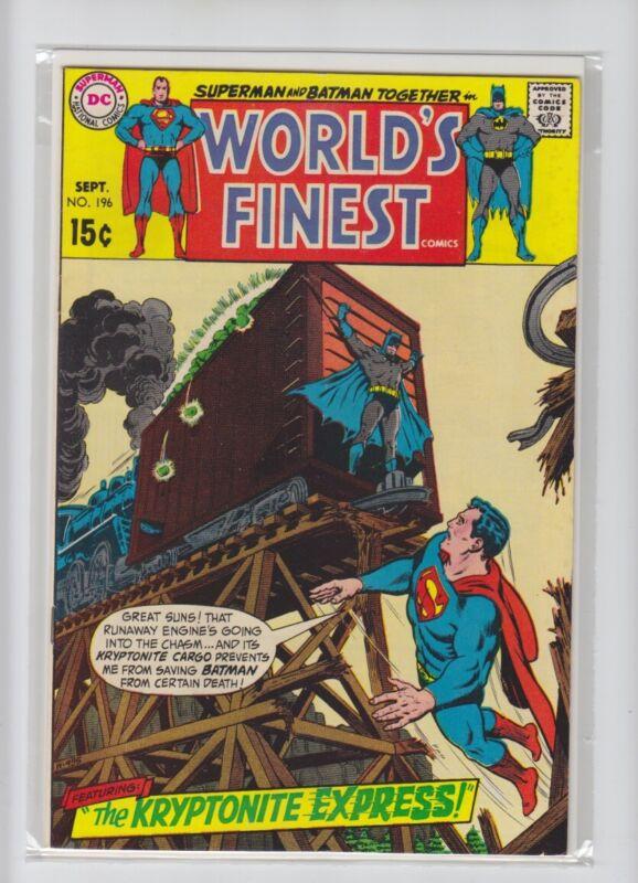 WORLDS FINEST #196