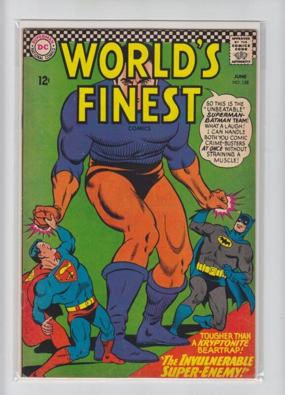 WORLDS FINEST #158