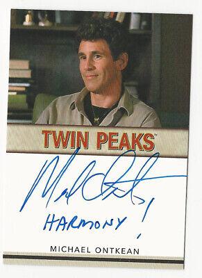 Michael Ontkean Rittenhouse TWIN PEAKS Archives 2019 Autograph Card Inscription