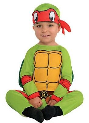 LICENSED RAPHAEL TEENAGE MUTANT NINJA TURTLES -TMNT - INFANT HALLOWEEN COSTUME](Baby Tmnt Halloween Costumes)