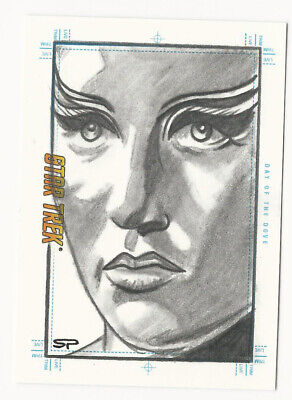 Day of the Dove STAR TREK TOS Portfolio Prints Sketch Card by Sean