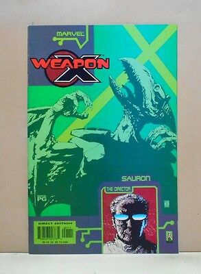 WEAPON X: THE DRAFT - SAURON - THE DIRECTOR 10/02 Marvel 9.0 VF/NM Uncertified