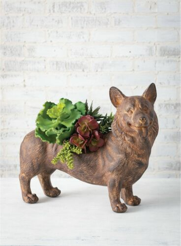 Corgi Dog Planter