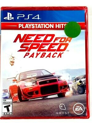 Need For Speed Payback Sony PlayStation 4 PS4 NEW SEALED