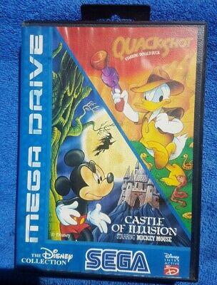 Usado, Mickey Mouse Castle Of Illusion And Quackshot - Sega MegaDrive - MEGA DRIVE comprar usado  Enviando para Brazil