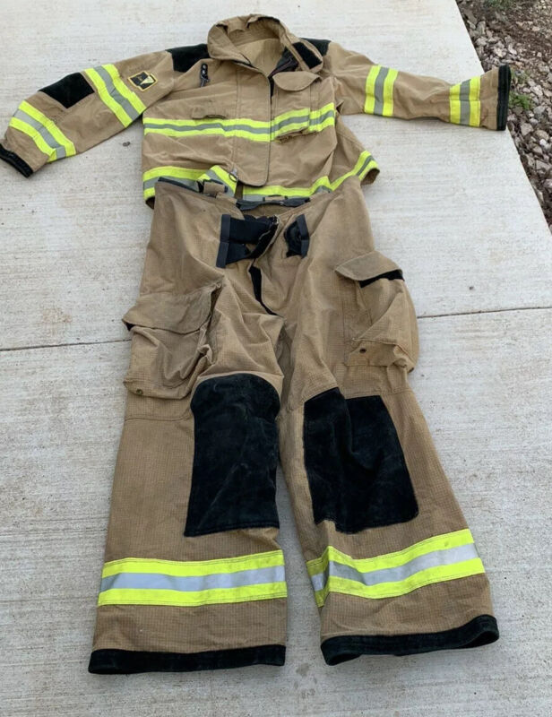 PBI Turnout Gear 4429S  Commando Coat And 40S Super Pants With Kevlar Insul. Top