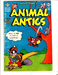 Movie-Town-039-s-Animal-Antics-32-1951-FREE-to-combine-in-Good-Very-Good