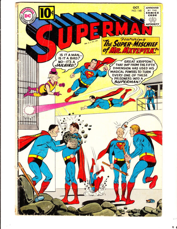 Superman 148 (1961): FREE to combine: in Good+  condition