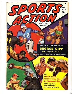 Sports Action 2 (1950): FREE to combine- in Very Good condition