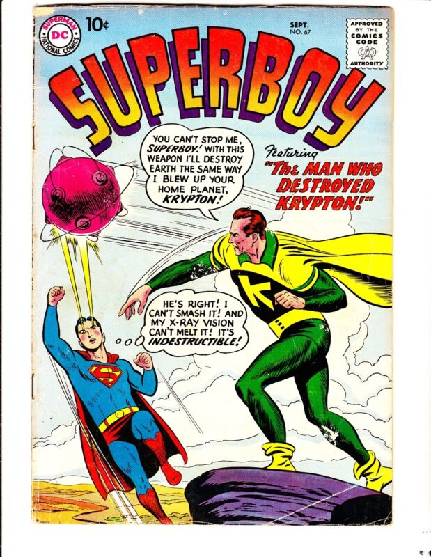 Superboy 67 (1958): FREE to combine: in Good-  condition