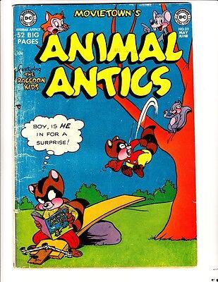 Movie Town's Animal Antics 32: (1951): FREE to combine- in Good/Very Good