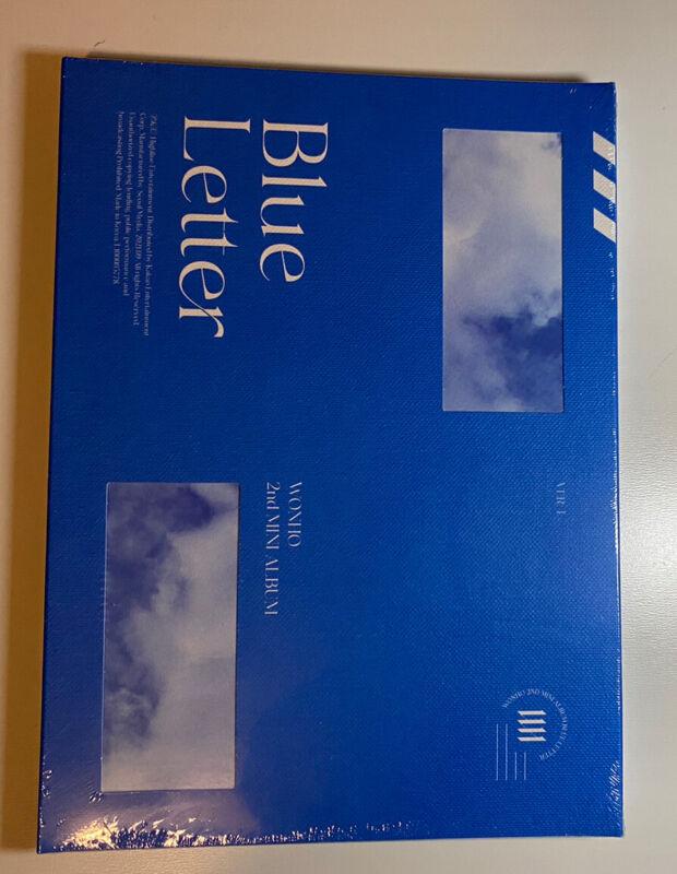 WONHO 2nd mini album Blue Letter sealed Pre-order version 1