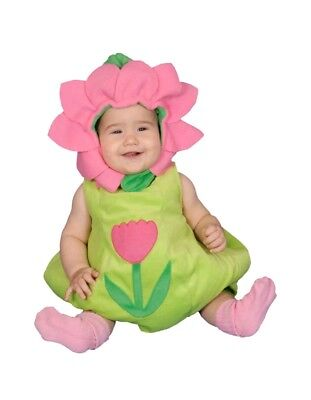 ling Baby Flower Costume 2 piece infent Size 6-12 M baby  (Hollween Kostüm)