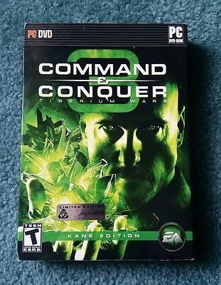 Command & Conquer 3 Tiberium Wars Kane Edition Limited Edition for PC