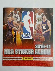 Album Panini NBA STICKER ALBUM 2010 - 11 VUOTO EDIZIONE SPAGNA A PAGAMENTO - Italia - Album Panini NBA STICKER ALBUM 2010 - 11 VUOTO EDIZIONE SPAGNA A PAGAMENTO - Italia