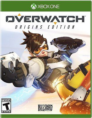 NEW Overwatch: Origins Number (Microsoft Xbox One, 2016)