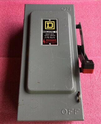 Square D Hu361 Safety Switch