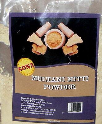 MULTANI MITTI  Powder 3.5 oz Bag , Ayurvedic Herb