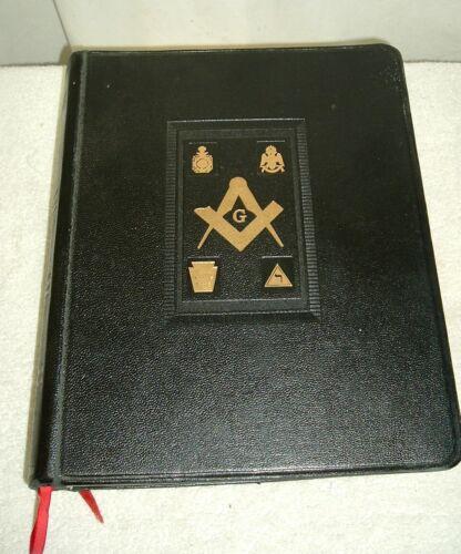 VINTAGE GRAND MASTER 1952 HOLMAN/MASON HOLY BIBLE REFERENCE DICTIONARY INDEX VTG