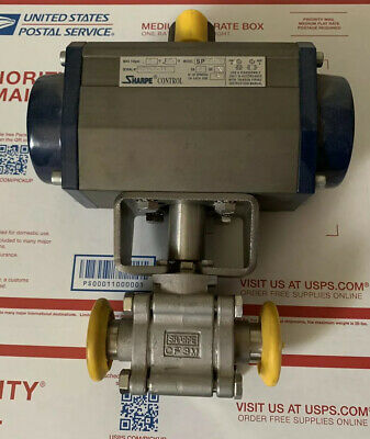 Sharpe Control Sp075 Flow Control Actuator Valve