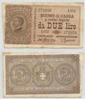 Regno D'italia - 2 Lire Vittorio Emanuele Iii 1922 -  - ebay.it