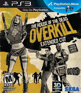 WANTED: HOUSE OF THE DEAD OVERKILL EXTENDED CUT