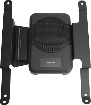 ALPINE POWERED SUBWOOFER + SPEAKER + AMP + HARNESS FOR 2010-