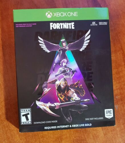 Fortnite Darkfire Bundle Xbox One replacement Case Slipcover NO GAME - $13.50