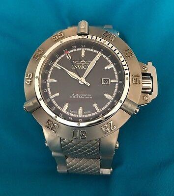 LE  008/500 Invicta Subaqua Noma III Swiss ETA GMT Automatic Sapphire Crystal